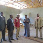 Visite de l'état d'avancement des travaux par le représentant de l'OIBT