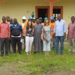 Visite du Chantier par les partenaires du RIFFEAC