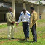 Le Directeur de l'ENEF M. Pierre Magloire SEME en action