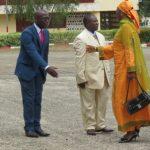 L'arrivée de Mme Koulsoumi Boukar