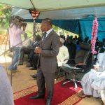 Discours du Réprésentant du Gouverneur de la Région