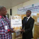 le Représentant de l'Institut des Sciences Agronomiques du Burundi